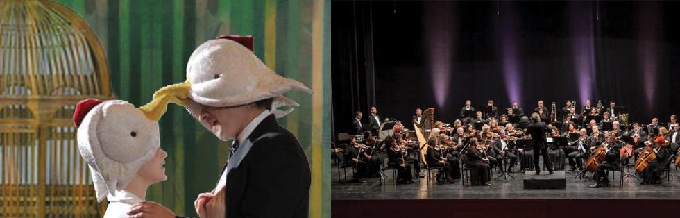 חליל הקסם <br>האופרה הירושלמית <br>והתזמורת הסימפונית אשדוד